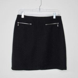 Laundry by SHELLI SEGAL Textured Cotton Skirt
